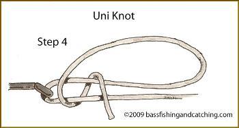 Tying a Uni Knot Step 4